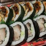 タキモト - ・「鯖と穴子の高菜巻(\1080)」