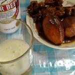 三ツ丸屋 - 芋が意外と美味い。里芋 と、筋。牛スジ
