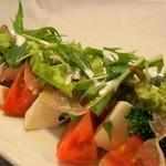 翠翔 - トマトのサラダ