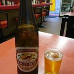 さか市 - 瓶ビール。