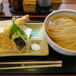 うどん 蔵十 - 料理写真:ひやかけと天ぷら