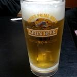85118697 - 生ビール:550円