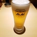 蕎麦処 グレゴリー - 生ビール