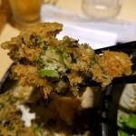 蕎麦処 グレゴリー - パクチー天