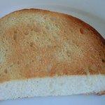 ESCRIBA - チキンのモッツァレラトマト焼き 1000円 のパン