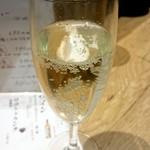天ぷらとワイン 小島 - 朝シャン