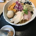 たけもと - 料理写真:【特製濃厚煮干しそば・大盛り…1,100円】◎2018/4