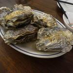 dhisshuto-kyo-gasutoronomi-kafe - 女川産牡蠣の白ワイン蒸し