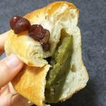 85122704 - ミニ食パン 緑茶 150円