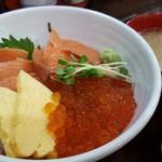 85123610 - サーモンとイクラ丼 1700円