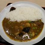松のや - 料理写真:海老と茄子の彩りカレー(¥580)