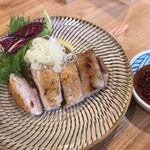 堅平更科 - 鳥焼きボン酢1100円