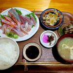 魚や はらとく - お刺身定食 1,300円