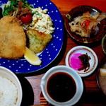魚や はらとく - 御魚フライ定食 850円
