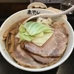 niboshira-menaoki - H30.5 こってり煮干しチャーシュー麺