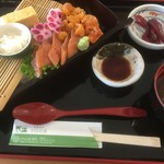 レストラン北海 - まんぞく丼3685円税別