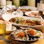 魚介イタリアン チーズ食べ放題 UMIバル - 食べ放題で思う存分食べ尽す、オイスター女子会!