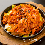美豚 - 辛さの中に野菜の甘みが染み込んだ『甘辛豚プルコギ』