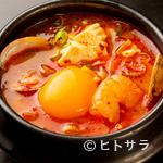 美豚 - 豆腐チゲ