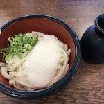 うどんの小麦冶 - 料理写真:冷やしやまかけうどん=356円 税込