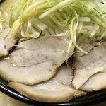 ちゃあみい - チャー4枚(チャー麺ではない)
