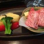 やみぞ - 常陸和牛のステーキ