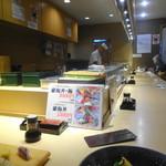 樽寿司 - 店内