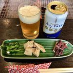 竹仙郷 - 料理写真:前菜&ノンアルコールビール