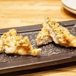 ISOGAMI FRY BAR - ☆ささみと蕎麦の実 842円