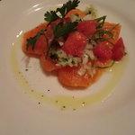 8513332 - 前菜・サーモンのカルパッチョ