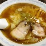 桔梗屋 - ワンタン麺大盛