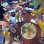 松ちゃん - テーブルの上
