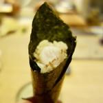いすけ - [2018/03]寿司⑦ のどぐろの手巻き