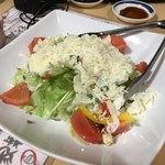 海鮮うまいもんや 浜海道  - チーズ柔らかくって美味しい 風味も良くて野菜が20割増しだ