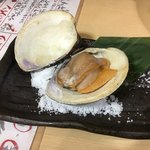 海鮮うまいもんや 浜海道  - 特大ハマグリは480円(・ω・)スゴイコスパ