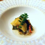 龍月  SUSHI - 煮鮑 蟹餡