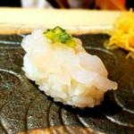 龍月  SUSHI - 白海老にはきゅうりの香り