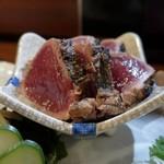 炭火焼 みや澤 - 鰹のタタキ