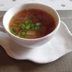 フルール・ドゥ・ソレイユ - スープ