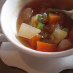 フルール・ドゥ・ソレイユ - スープのアップ!