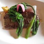 フルール・ドゥ・ソレイユ - 肉のメイン
