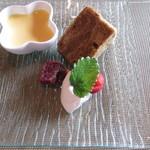 フルール・ドゥ・ソレイユ - デザート