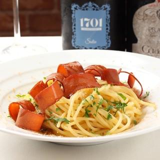 オーナーシェフが作り出す、イタリア郷土料理