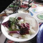 ブルーノ - サラダと薬味