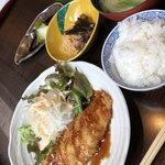 四季 武むら - 料理写真:ホッケフライ定食 850円