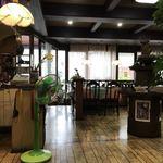 米常 - 店内  レトロな扇風機
