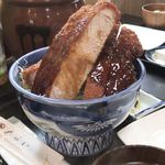 85141271 - ロースかつ丼 ¥1550