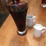 85144803 - ★お肉ランチ(1200円 税抜)★アイスコーヒー