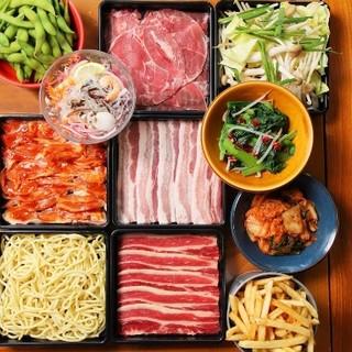 2時間飲み放題とBBQ食べ放題コース3800円(税抜)!
