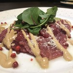 CHEESE SQUARE - 馬肉カルパッチョ